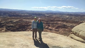 Erica and me at White Crack